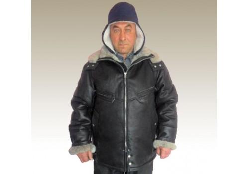 Куртка  «Пилот» с капюшоном